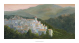 Spanish Village Giclee Print by Mary Jean Weber