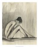 Sumi-e Figure III Giclee Print by Ethan Harper