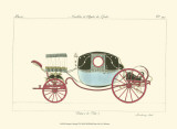 Antique Carriage VI Posters