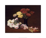 Homage to Fantin-Latour Premium Giclee Print by Michael G. Miller