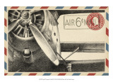 Small Vintage Airmail II Prints by Ethan Harper