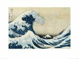 Under the Wave, Off Kanagawa Wydruk giclee autor Katsushika Hokusai