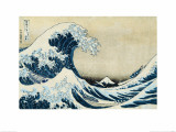 Under the Wave, Off Kanagawa Gicl&#233;e-Druck von Katsushika Hokusai