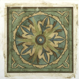 Ornamental Tile II Art by Chariklia Zarris