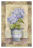 Spring Hydrangea Posters by Abby White
