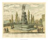 Italian Fountain IV Giclee Print by Giovanni Battista Falda