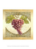 Wine Grapes I Print by Sydney Wright