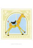 Giraffe Carousel Prints by Erica J. Vess