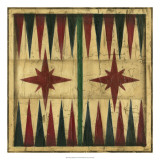 Antique Backgammon Giclee Print by Ethan Harper