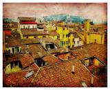 Bird's Eye Italy I Poster by Robert Mcclintock