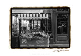 Café Charm, Paris I Prints by Laura Denardo
