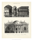 Design for a Mansion Giclee Print by J. Wilkes
