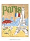 Paris Poster by Megan Meagher