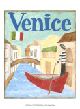 Venice Posters by Megan Meagher
