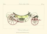 Antique Carriage II Plakaty
