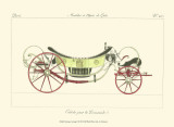 Antique Carriage II - Poster