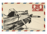 Small Vintage Airmail I Posters by Ethan Harper