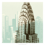 Architectural Overlay I Giclee Print by Ethan Harper