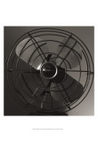 Vintage Fan Study IV Print by Renee Stramel