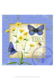 Butterfly Meadow IV Poster by Jane Maday