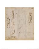 Eight Studies of Nude Children Giclee Print by  Michelangelo