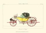 Antique Carriage I Reprodukcje