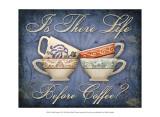 Coffee Inspires VI Prints by Kate Ward Thacker