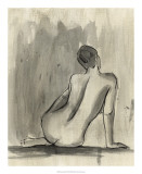Sumi-e Figure II Posters par Ethan Harper