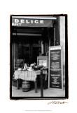 Café Charm, Paris IV Lámina por Laura Denardo