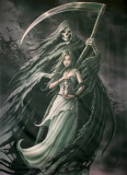 Summon the Reaper Poster by Anne Stokes