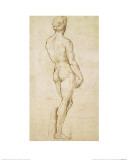 Michelangelo's David Giclée-Druck von Sanzio Raphael