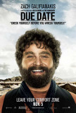 Due Date - Zach Galifianakis Masterprint