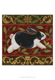 Folk Rabbit II Prints