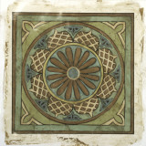 Ornamental Tile I Stampa giclée di Chariklia Zarris