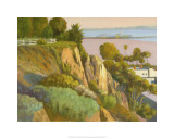 The Bluffs, Santa Monica, California Premium Giclee Print by Michael G. Miller