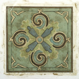 Ornamental Tile V Prints by Chariklia Zarris