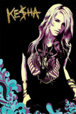 Ke$ha - Retro Affiche