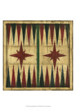 Small Antique Backgammon Posters by Ethan Harper