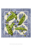 Peas Tile Posters by Abby White