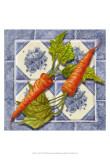 Carrot Tile Art by Abby White
