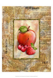 Mixed Fruit I Affiches par Abby White