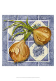 Onion Tile Prints by Abby White