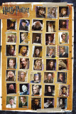Harry Potter and the Deathly Hallows - Characters Kunstdruck