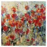 Red Poppy Field II Art by Tim O&#39;toole