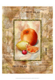 Mixed Fruit II Print by Abby White