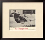 Conjugal Bed, 1964 Framed Giclee Print