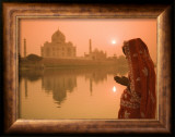 Taj Mahal, Agra, Uttar Pradesh, India Framed Photographic Print by Doug Pearson