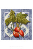 Radishes Tile Posters by Abby White