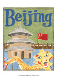 Beijing Print by Megan Meagher
