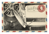 Vintage Airmail II Giclee Print by Ethan Harper